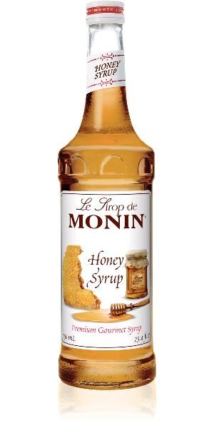 Сироп MONIN пастеризованный со вкусом и ароматом меда