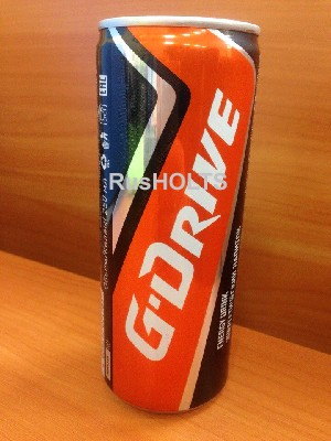G-Drive Энергетический напиток Классик 0,25л ж/б