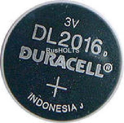Duracell Батарейки DL2016