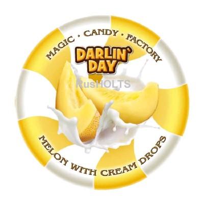 DARLIN`DAY карамель леденцовая молочная со вкусом дыни и сливок
