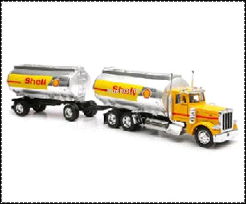 Трейлер 1:32 бензовоз  Shell с прицепом