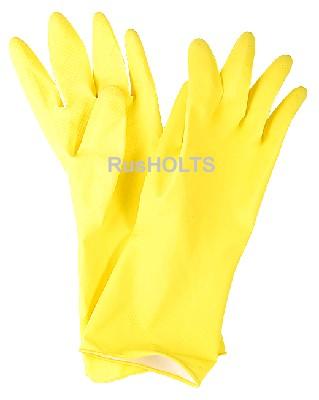 МАТЕРИАЛЫ Guten Tag Перчатки латексные XL, с хлопковым напылением