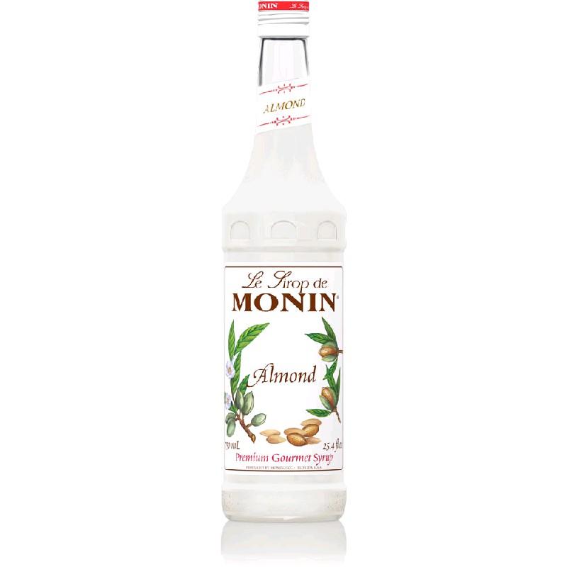 Сироп MONIN пастеризованный со вкусом и ароматом миндаля