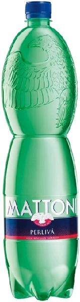 Вода минеральная лечебно-столовая газ Mattoni 1,5 л  ПЭТ