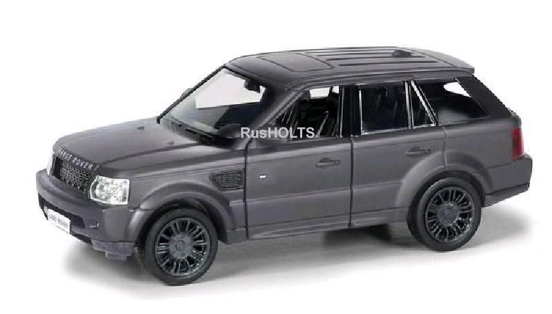Игр.модель 1:32 Range Rover Sport инерционная, цвет: серый матовый