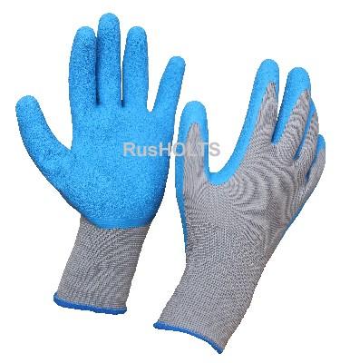 Перчатки полиэфирные с латексным покрытием 1 пара
