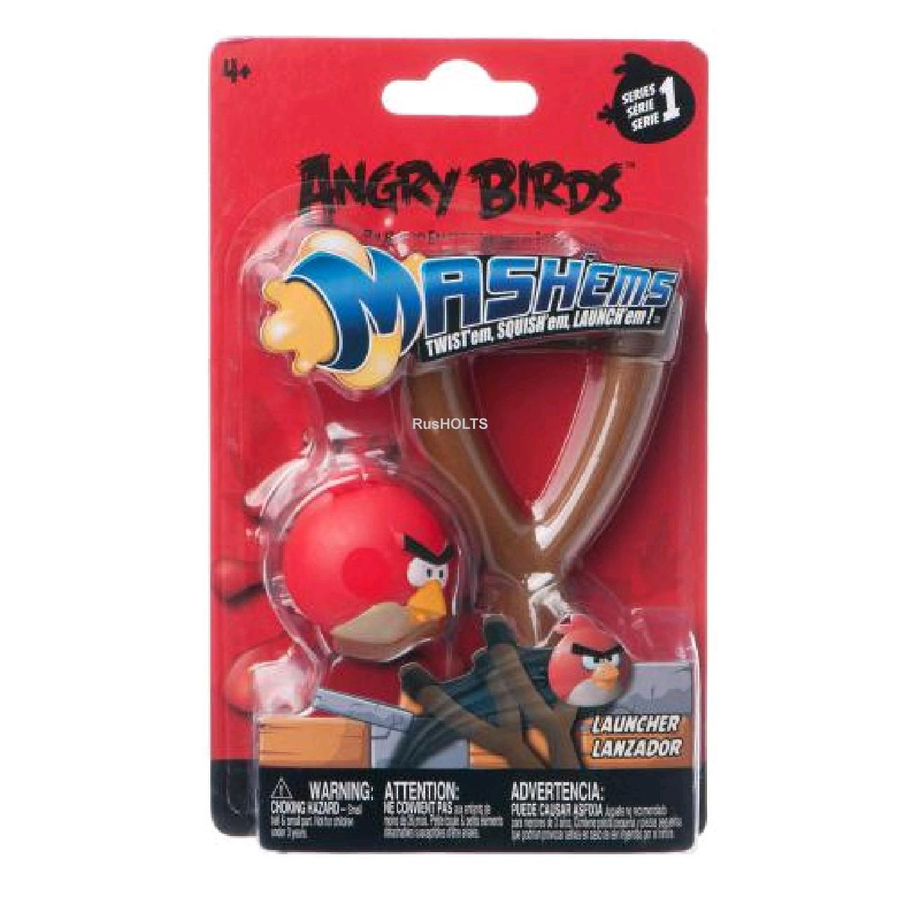 Angry Birds Игровой набор Рогатка-мялка в асс. ( красные или желтые)
