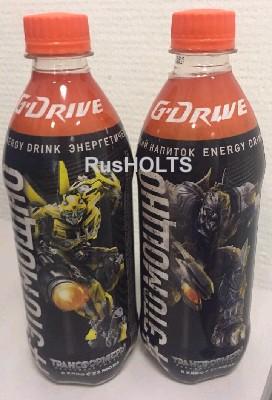 G-Drive Трансформеры Энергетический напиток 0,5л ПЭТ