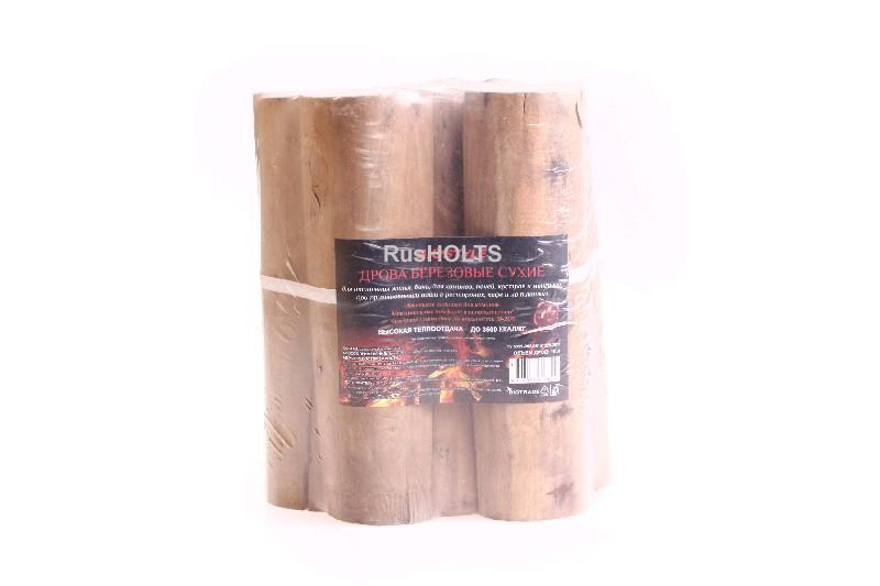 Biostyle дрова березовые  сухие в п/э, 10 л