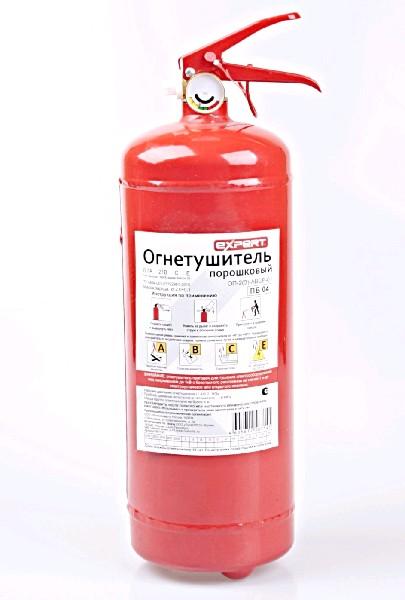 EXPERT Огнетушитель порошковый ОП-2 (3) АВСЕ-01