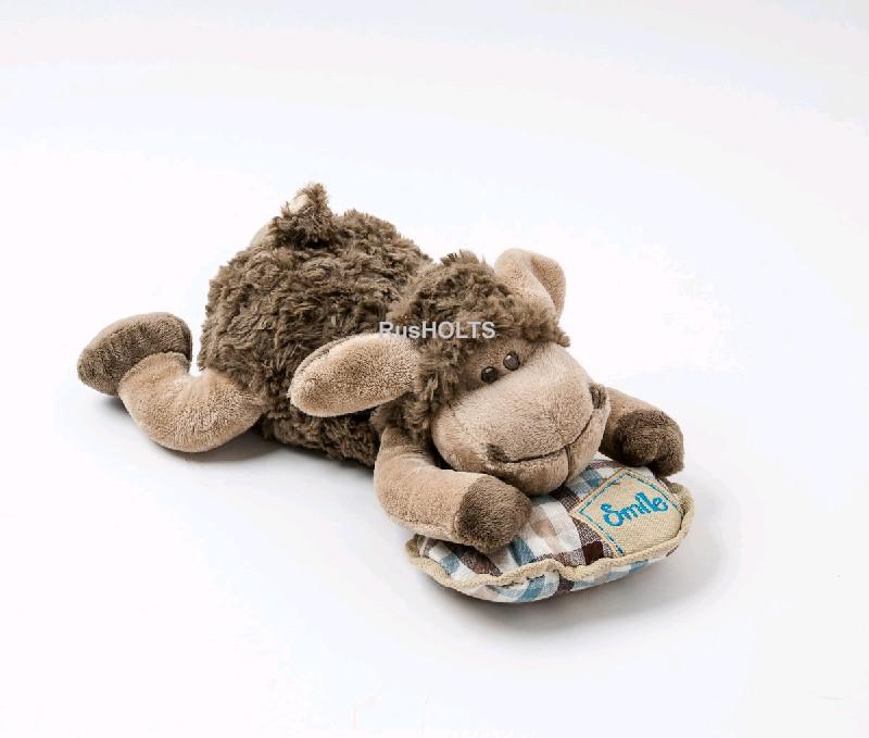 Игрушка мягкая Овечка Джесси с подушкой