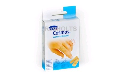 COSMOS Пластырь водоотталкивающий, набор 5 размеров 20 шт. в упаковке