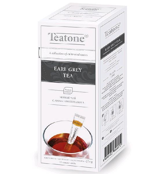 TEATONE Чай черный с ароматом бергамота