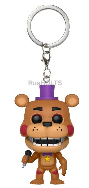Funko Брелок Pocket POP! Keychain: FNAF:Pizza Sim: Rockstar Freddy 32155-PD