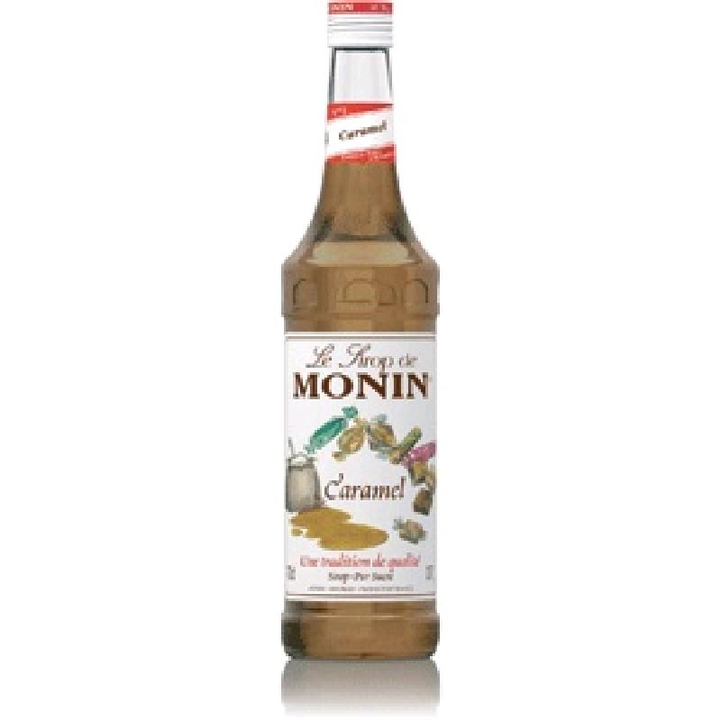Сироп MONIN пастеризованный со вкусом и ароматом карамели