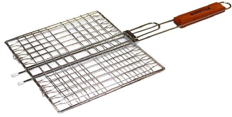 Biostyle Решетка для гриля Походная большая, 330х215 мм