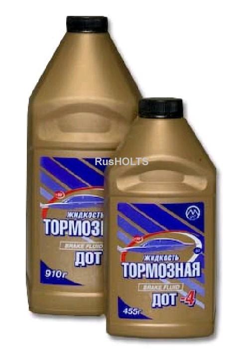 Тормозная жидкость 455г ДОТ-4