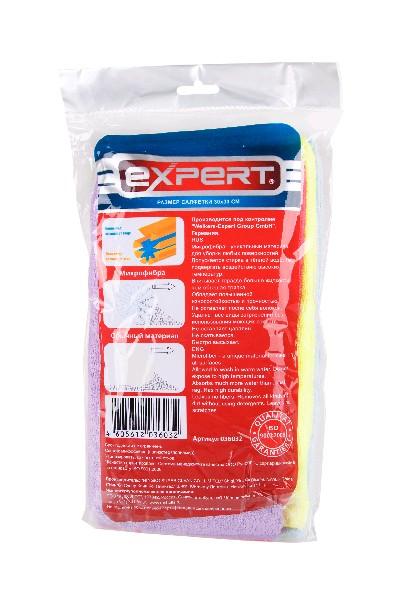 EXPERT Салфетка из микрофибры 30*30см 10шт.