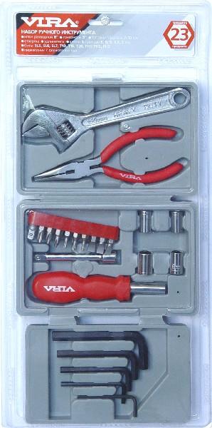 Набор ручного инструмента VIRA 23 предмета