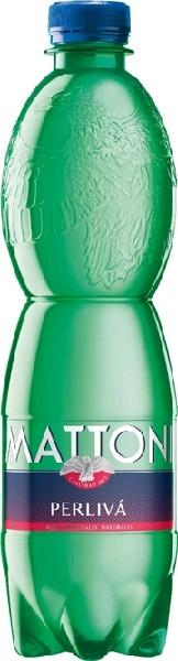 Вода минеральная лечебно-столовая газ Mattoni  0,5 л  ПЭТ