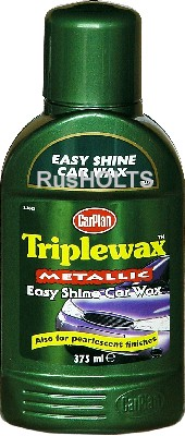 CarPlan Triplewax Полироль 3-х компонентная для краски Металлик, 375мл