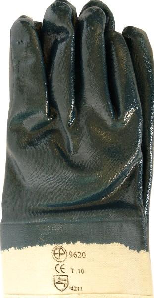 Перчатки  маслобензостойкие, полное нитриловое покрытие  (9620)