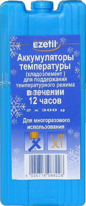 Аккумулятор холода/тепла Ezetil Ice Akku (2х300 граммов)