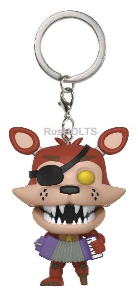 Funko Брелок Pocket POP! Keychain: FNAF:Pizza Sim: Rockstar Foxy 32154-PDQ
