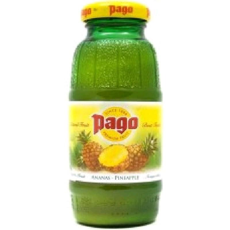 Нектар Pago Ананас и Лимон (Pineapple Lemon) 0,2*24 бут