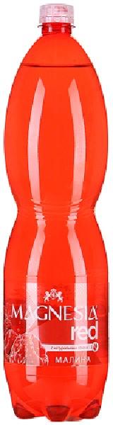 MAGNEZIA Напиток безалкогольный RED Малина  газ 1,5 л ПЭТ