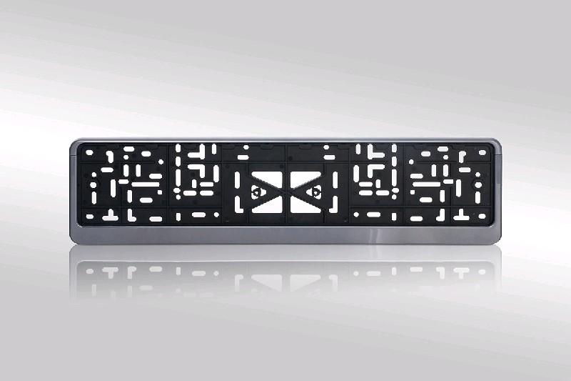 Рамка для номерного знака (черная)