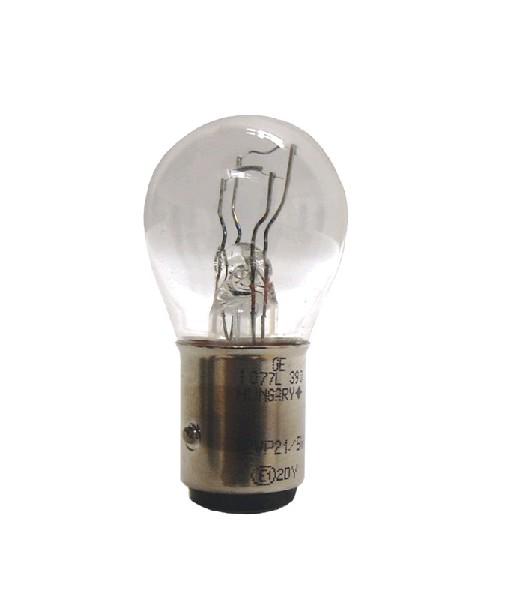 Лампа GE, P21/5 12V 21/5W BAY15d (бл.2шт.) 17130