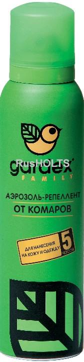 Gardex Family Аэрозоль-репеллент от комаров 150 мл