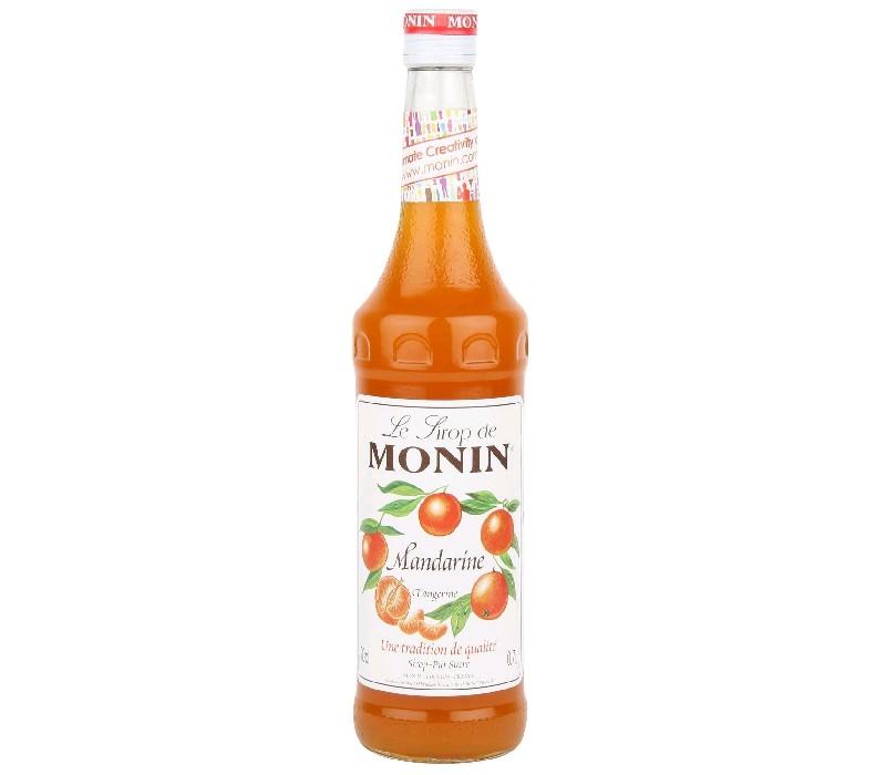 Сироп MONIN пастеризованный со вкусом и ароматом мандарина