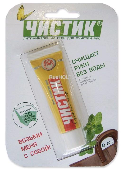 "Средство для очистки рук ""СУХОЕ ПОЛОТЕНЦЕ"", 140 г"
