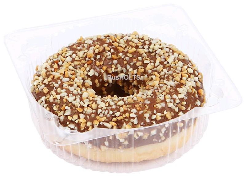 FF Донат с ореховой начинкой, 71 гр\шт, 12 шт в кор, Dooti Donats