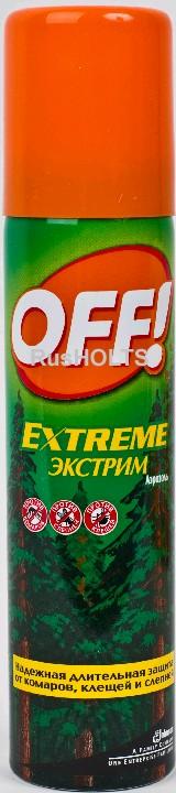 ОФФ! Экстрим  аэр. от комаров, клещей и пр. 100 мл