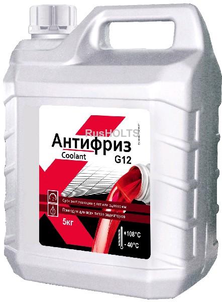 EXPERT Антифриз G12 (красный), 5 кг