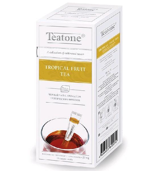 TEATONE Чай черный Аромат тропических фруктов