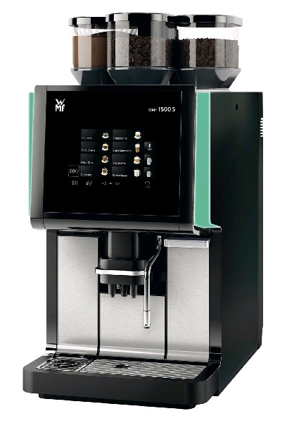 Кофемашина WMF 1500S, Дин. Милк, 2 кофемолки, Какао, Дуо комбисток