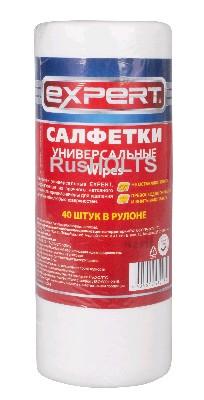 EXPERT Салфетки универсальные 40 шт в рулоне