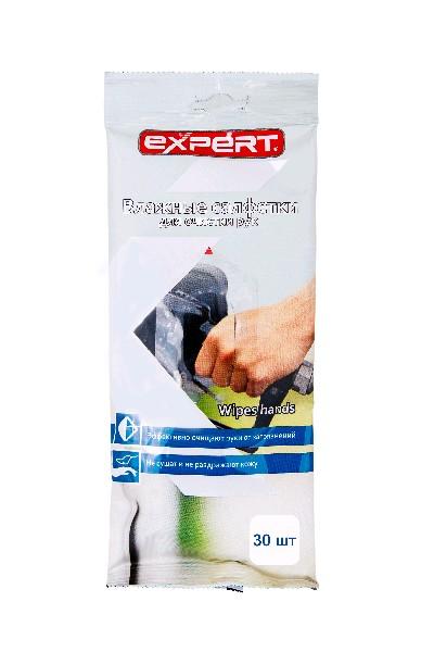EXPERT Влажные салфетки для рук 30 шт.