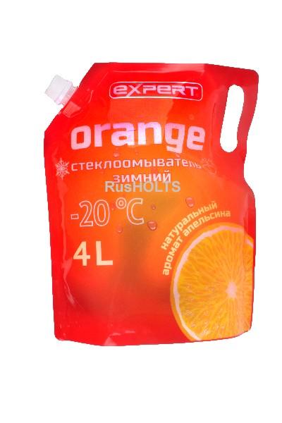 EXPERT Стеклоомыватель Orange 4л -20 (дой пак)