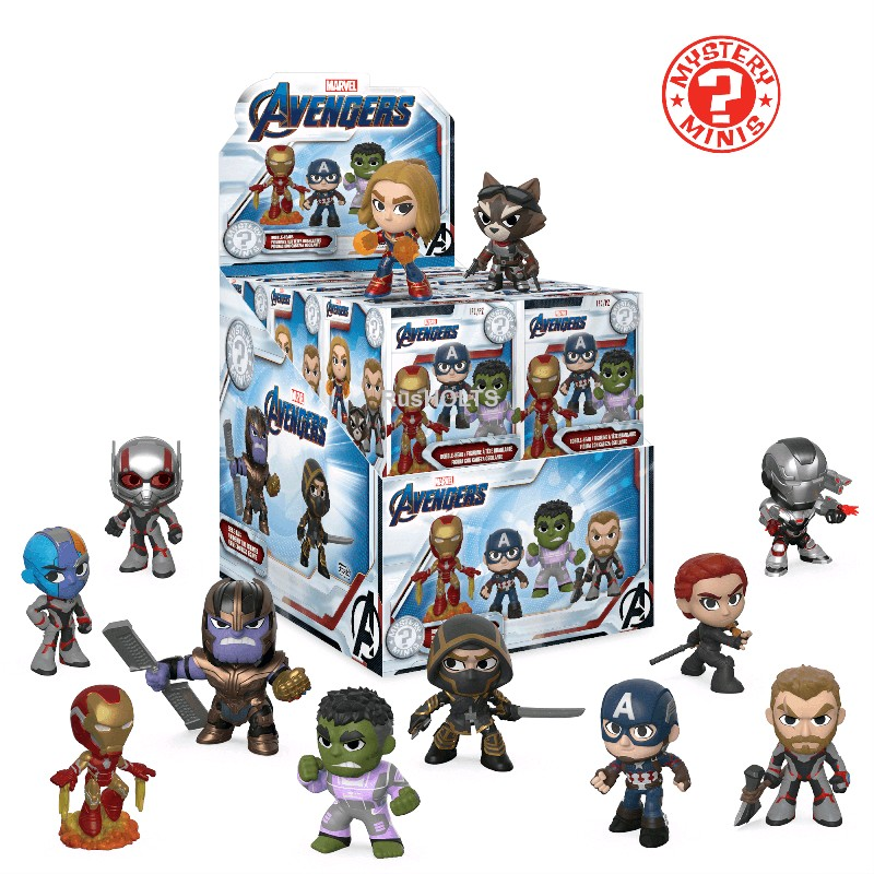 Funko Фигурка Mystery Minis: Marvel: Avengers Endgame: 12PC PDQ 37200