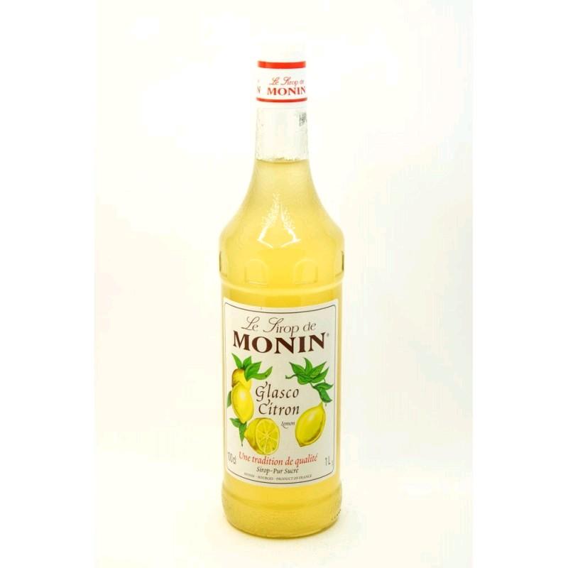 Сироп MONIN пастеризованный со вкусом и ароматом лимона