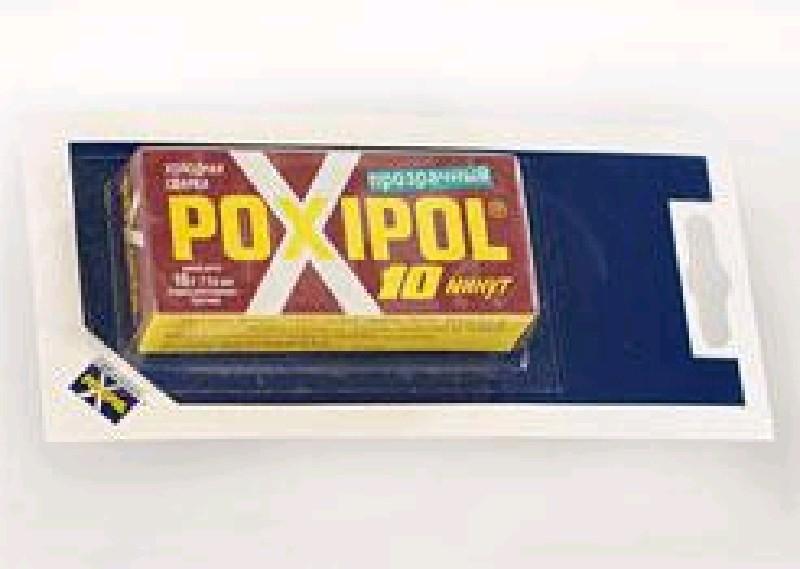 Клей POXIPOL 14 мл на блистере прозр.