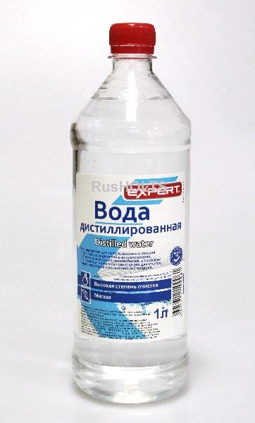 EXPERT Дистиллированная вода  1л