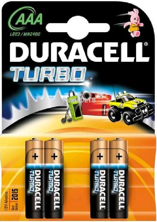 Duracell Батарейки LR6 BP4 Turbo