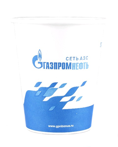 КАФЕ Стакан ГазпромНефть бумажный 200 мл уп 50 шт