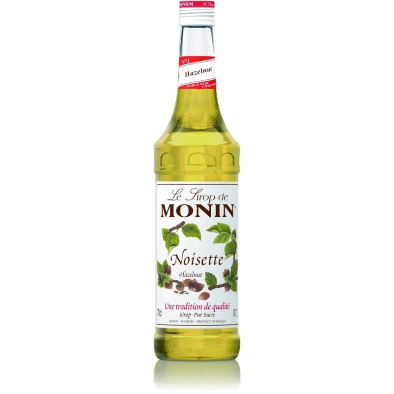 Сироп MONIN пастеризованный со вкусом и ароматом лесного ореха